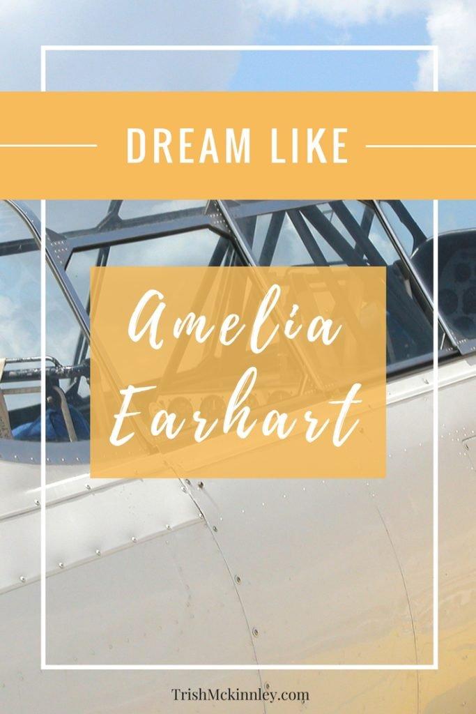Dream Like Amelia Earhart Image