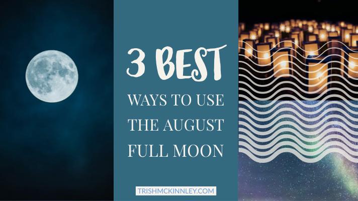 August 2018 Full Moon . 4