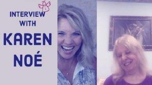 Trish McKinnley and Karen Noe laughing