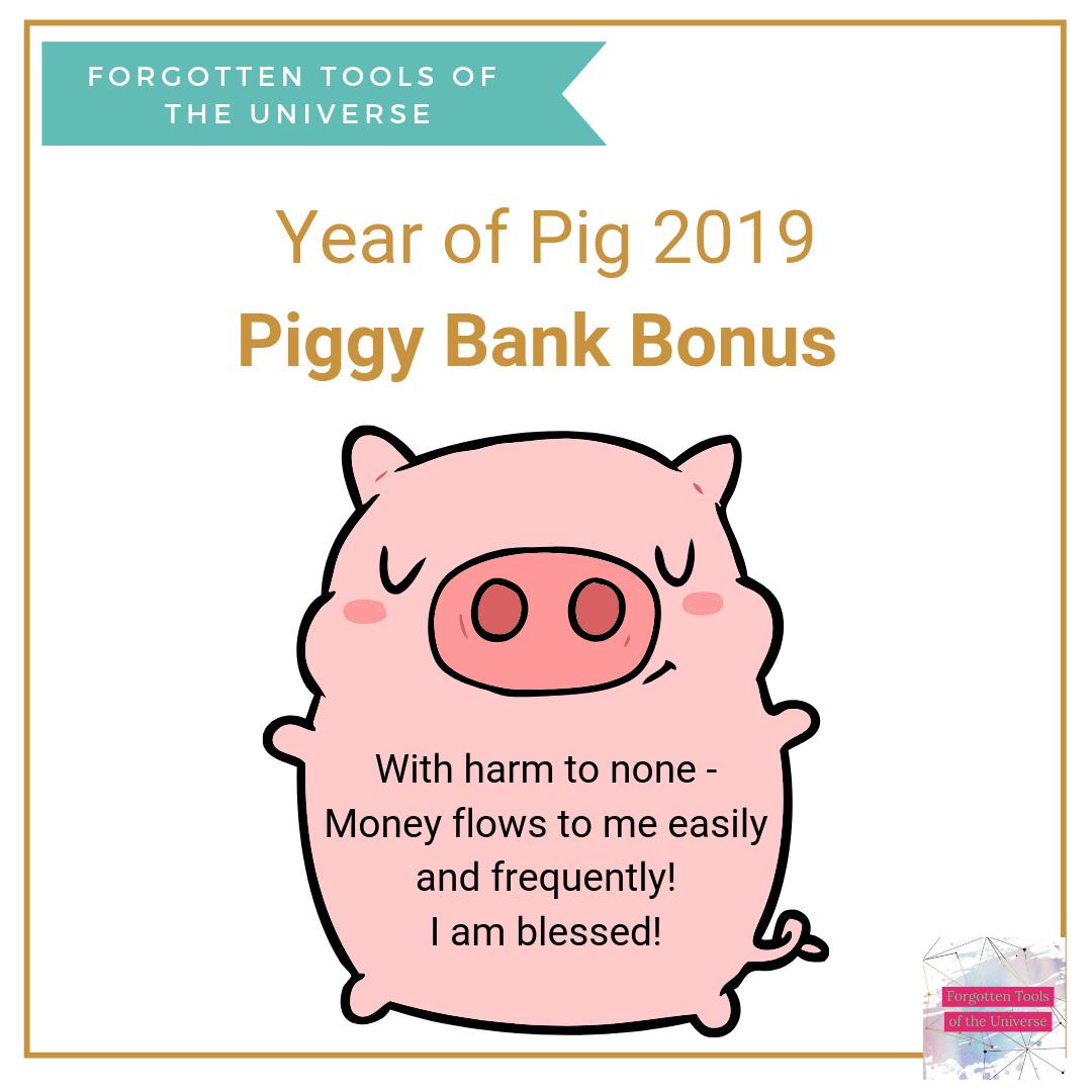 Year of pig Piggybank thumbnail
