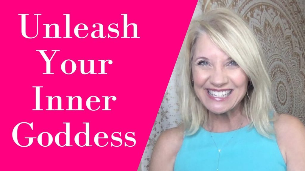 photo of Trish Mckinnley with the words 'Unleash you Inner Goddess'